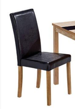 Damaged Box Item A1 Ashleigh Dining Chairs Pair Black Dimensions W425 X D530 X H920mm Rrp 139