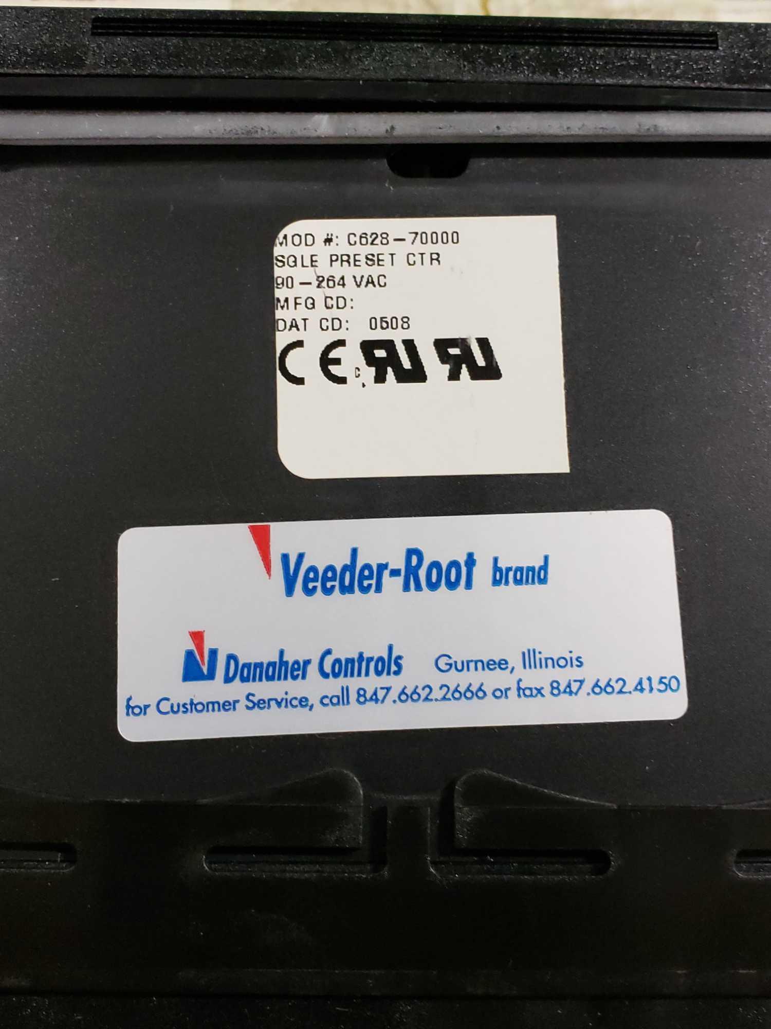 Lot 33 - Danaher preset counter model C628-7000. Veeder Root. New in box.