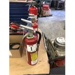 (5) FIRE EXTINGUISHERS
