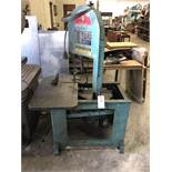 (1) ROLL-IN VERTICAL BANDSAW