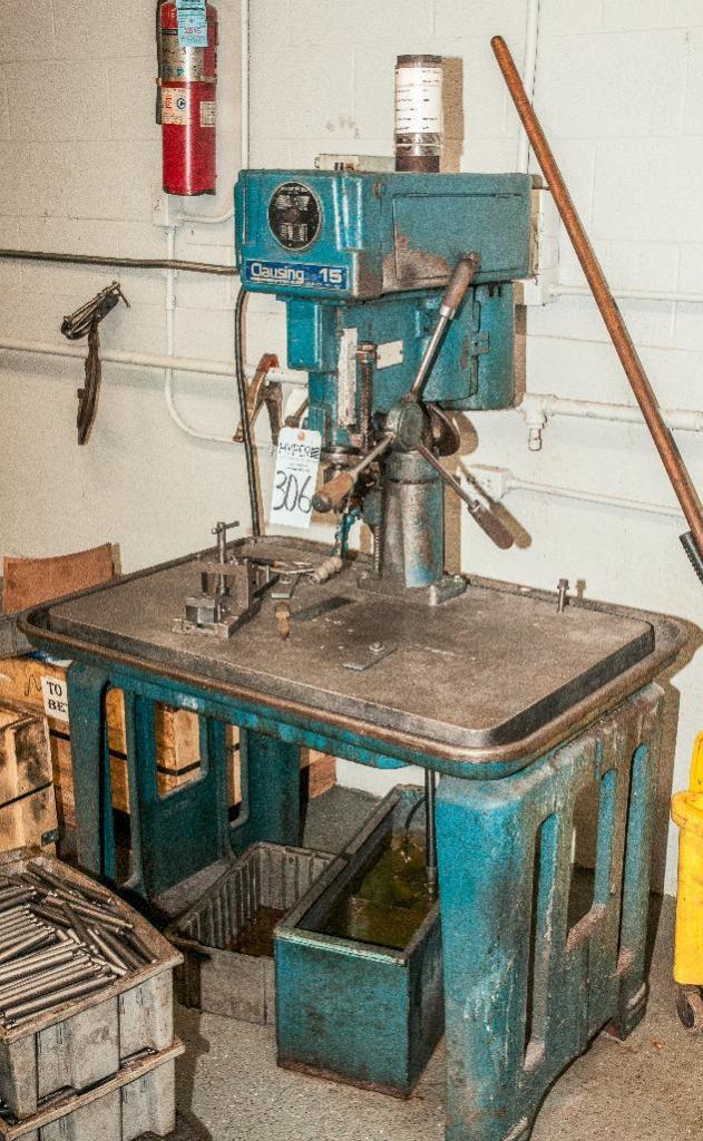 Clausing Drill Press Model 1634, 24