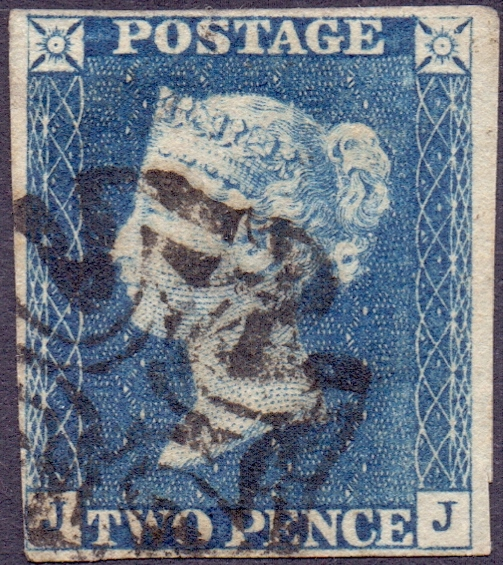Lot 194 - GREAT BRITAIN STAMPS : 1840 TWO PENNY BL