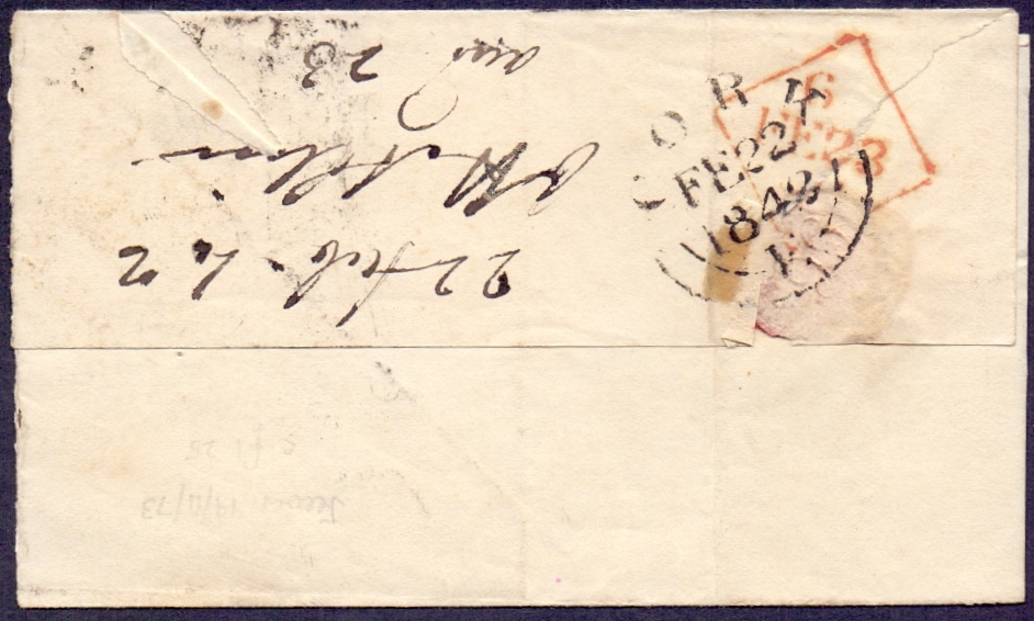 Lot 163 - GREAT BRITAIN STAMPS : 1842 wrapper from