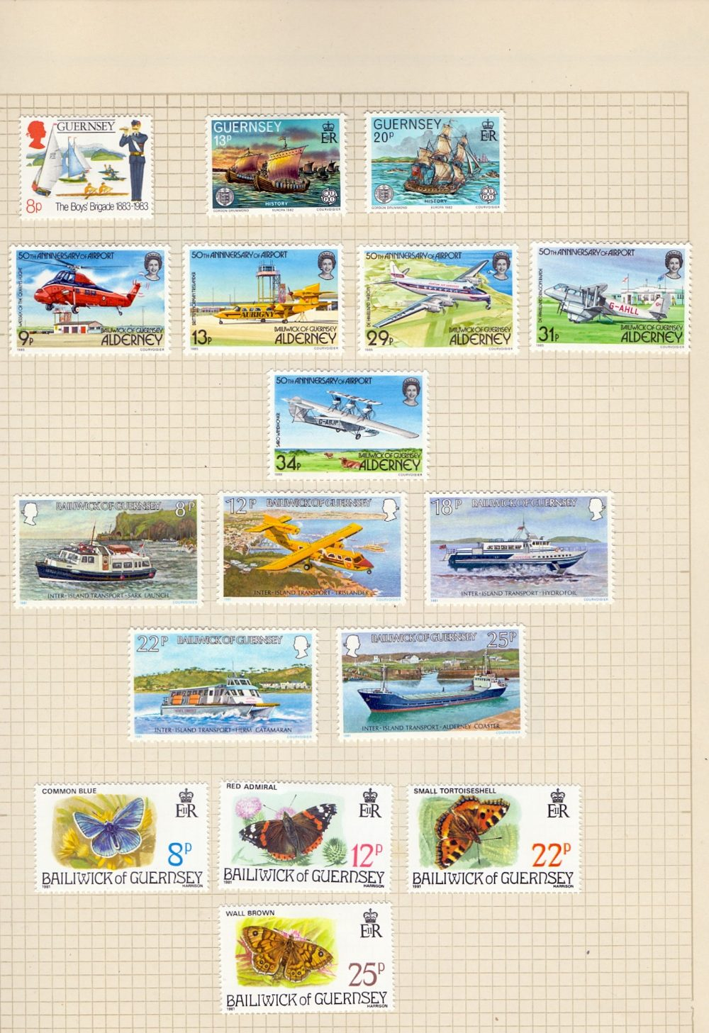 STAMPS Various Europe in green album, Ch - Image 2 of 3