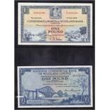 BANKNOTES : 1958 Bank of Scotland Fairba