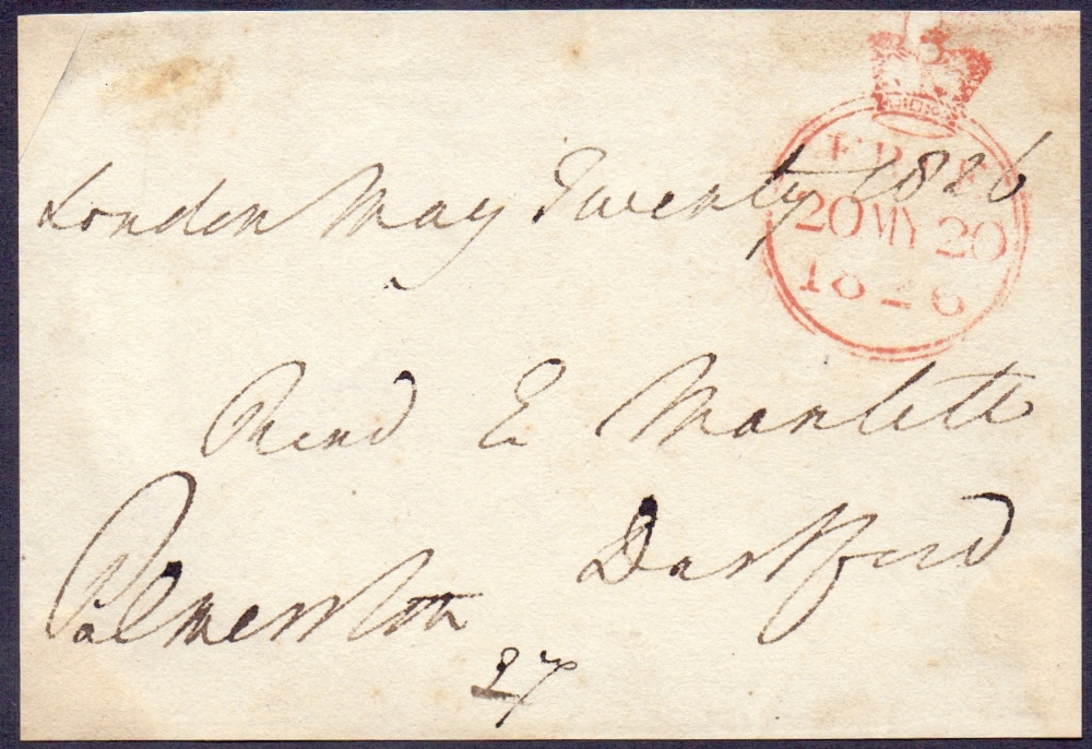 Lot 114 - Viscount Palmerston, signed Free Front d