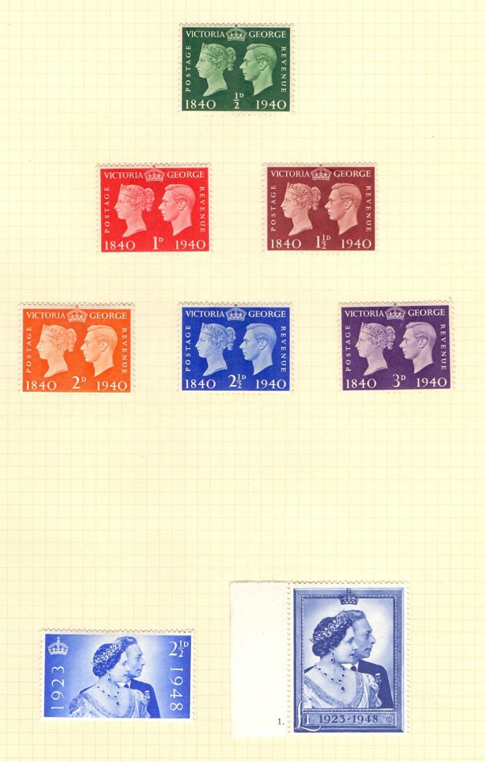 Lot 128 - GREAT BRITAIN STAMPS : Mint collection i