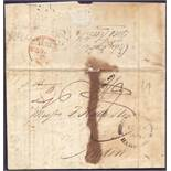 POSTAL HISTORY : QUEENBOROUGH, 1831 enti