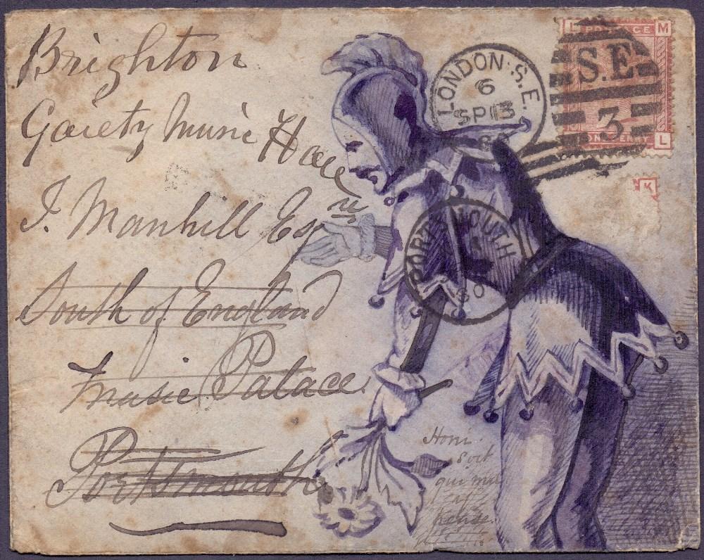 Lot 144 - GREAT BRITAIN POSTAL HISTORY : 1880 hand