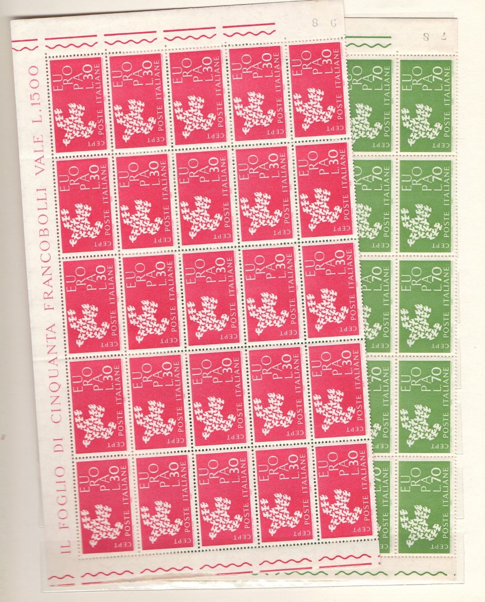 Lot 12 - STAMPS Stockbook of Europa issues unmoun