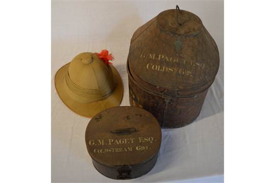 aafe551789006 Possibly WWI Wolsey pattern pith helmet and case