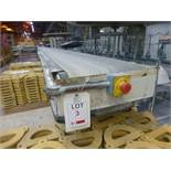 Co-Bam 17m x 400mm PU powered belt conveyor and Co-Bam 5.7m x 400mm PU belt conveyor.