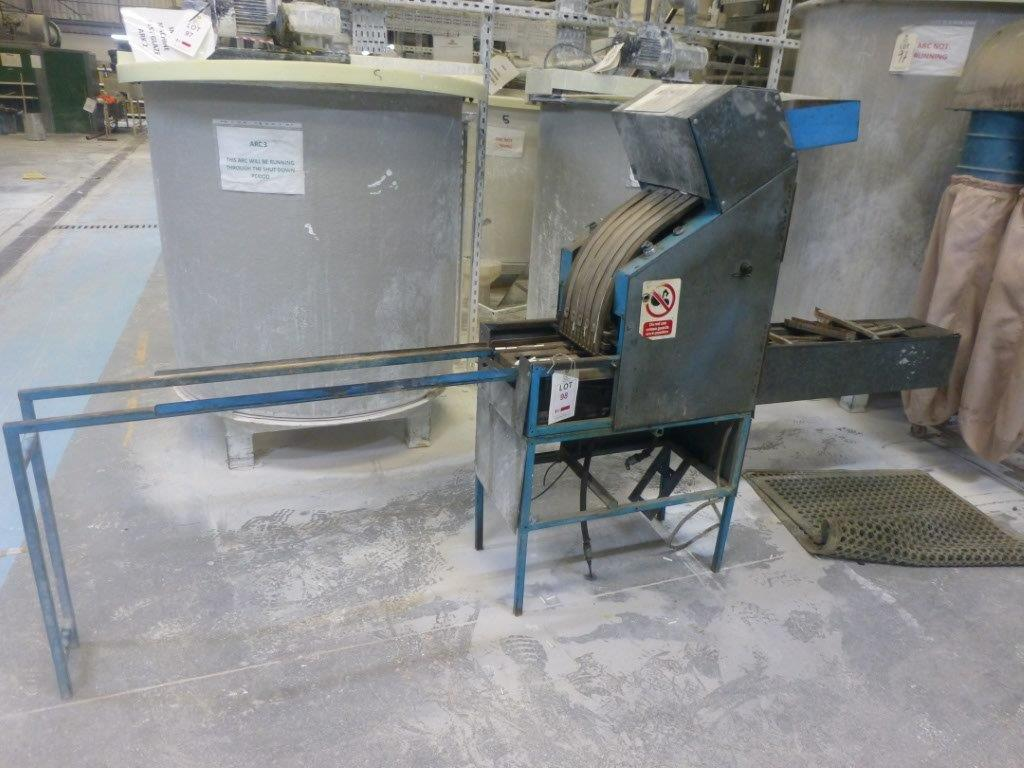 Refractory pin inserter, Plant No Machine 4