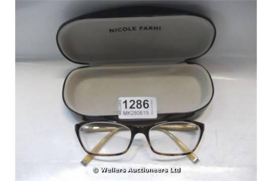 b8c72c405c5f NICOLE FARHI NF0032 GLASSES FRAMES CASED   GRADE  UNCLAIMED PROPERTY ...