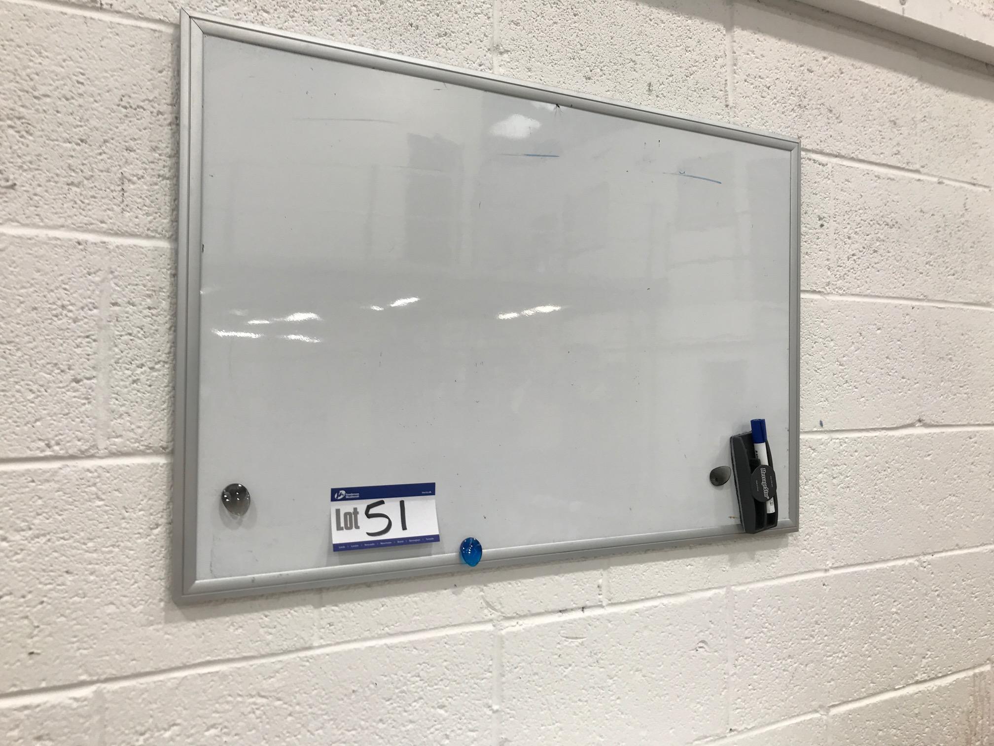 Lotto 51 - Two Wipe Clean White Boards