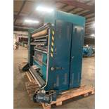 "Lafer Double Shearer, Model# CMS2 87233, Working Length 6' 10"", Rollers 7' 3"", DIMENSIONS FOR SHIPPI"