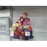 Lot 8 - Doulton figure 'Flower Sellers Children) HN No.1342