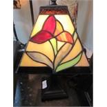 "Lot 6 - Renni McIntoch design Tiffany style lamp approx 15"" high"