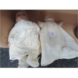 Lot 59 - 2 A.M. Bisque head baby dolls