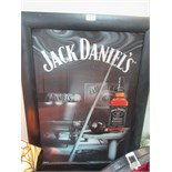 Lot 5 - Framed 'Jack Daniels' 3D picture