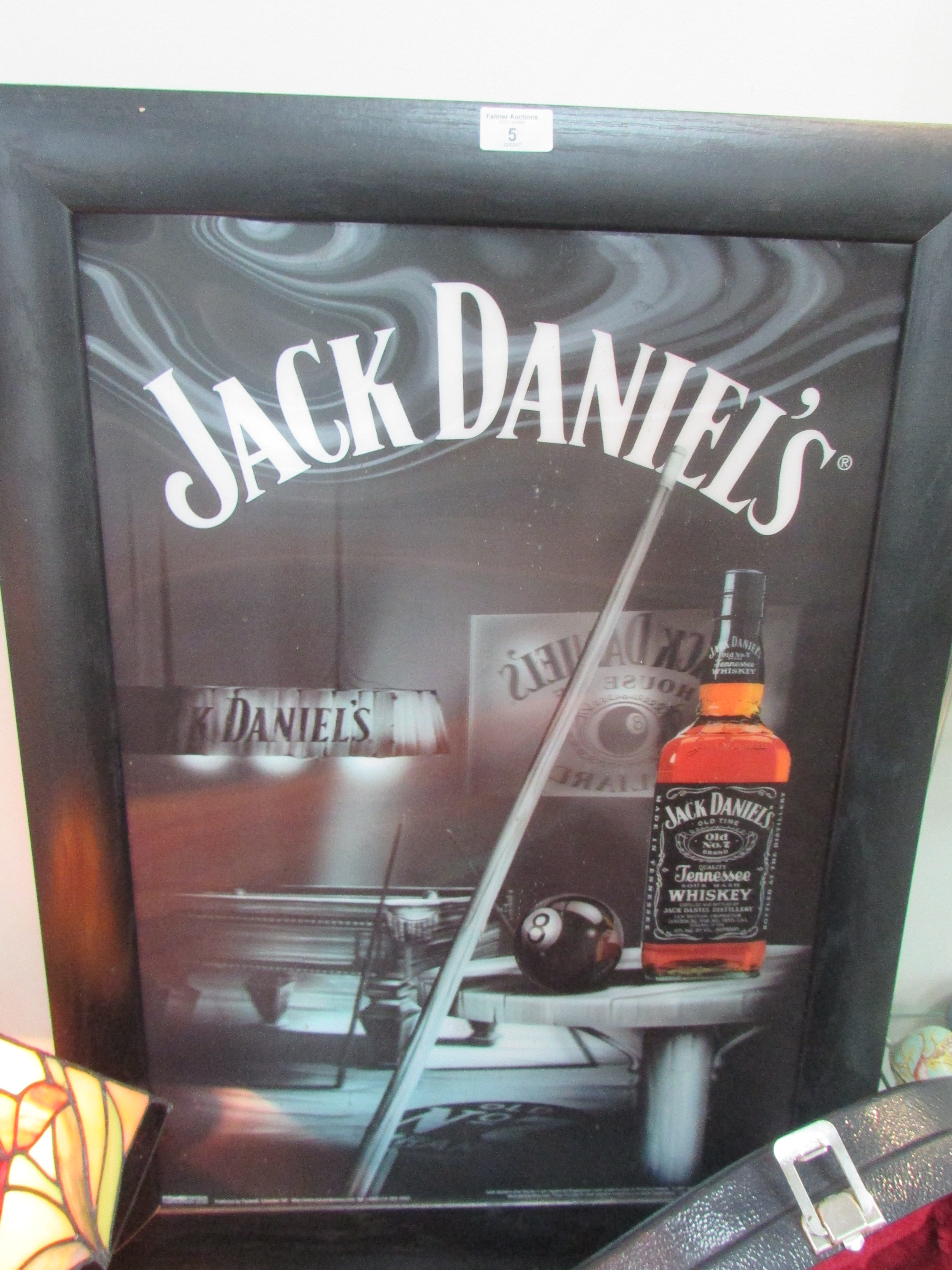 Lot 5 - Framed 'Jack Daniels' 3D picture