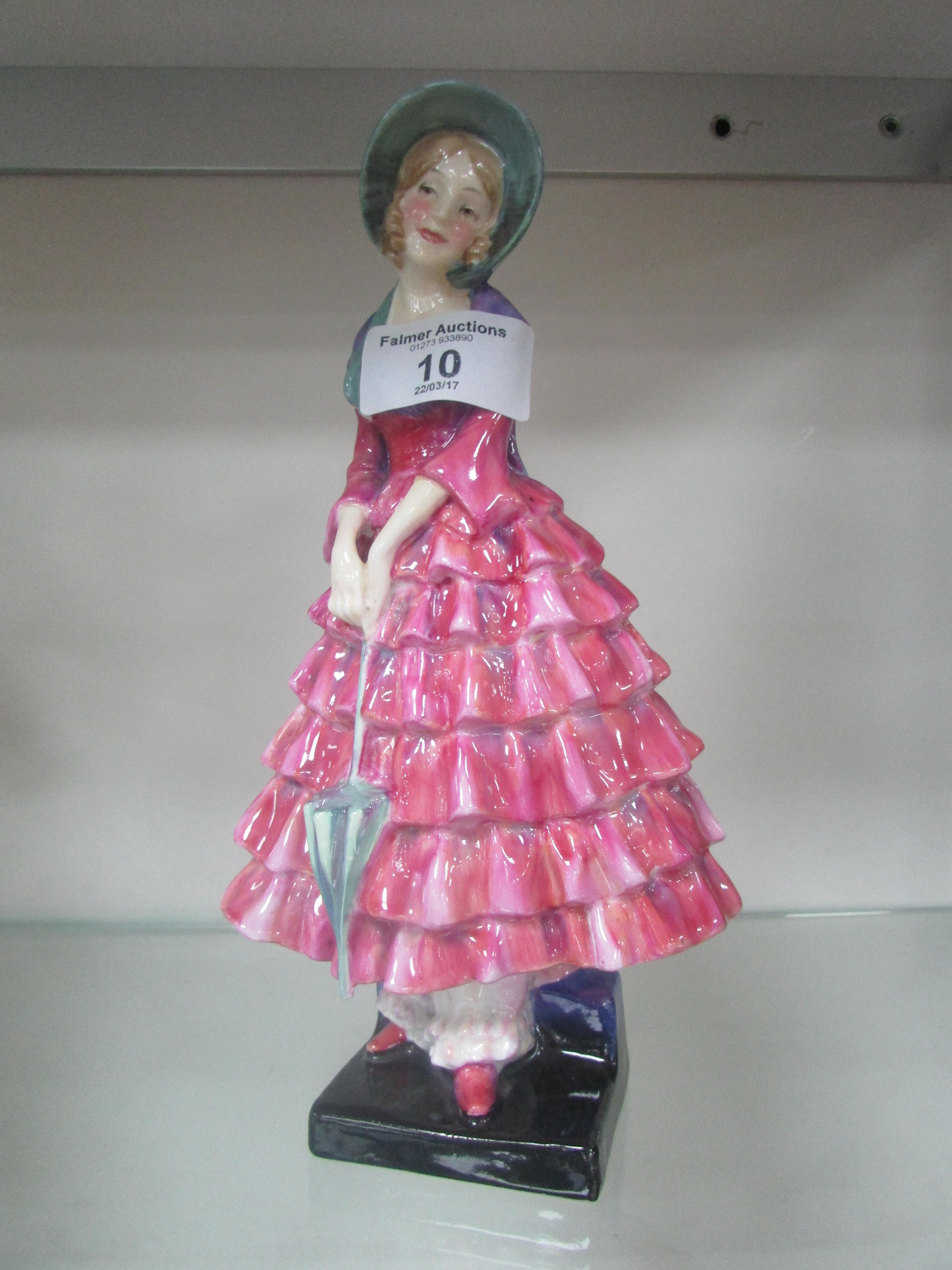 Lot 10 - Doulton figure 'Priscilla' HN 1340