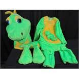 Mascot Style Dinosaur Costume - Dizzy the Dinosaur Costumes