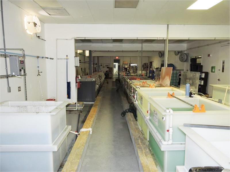 """Lot 1 - Ultra Modern 48"""" Aerospace Plating Line (2014) (**Cleaned, Prepped & Loaded on Truck**)"""