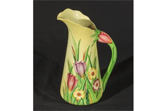 A Carlton Ware Crocus Pattern Vase