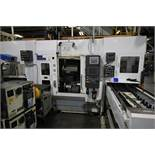 FUJI MULTI AXIS CNC LATHE MODEL ANS320 WITH GANTRY LOADER & STOCKER TABLES