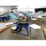 Hopkins International Screen Printing System Model Redair Auto SPO, S/N 91621 (LOCATED IN ST. AUGUST