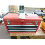 LOT: Craftsman 3-Drawer Tool Box with Top Storage, with Contents (LOCATED IN ST. AUGUSTA, MN.)