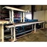 "Getriebevbau Nord Conveyor Belt, (3) Pieces: (2) 20' Length x 18"" Wide; (1) 6' Length x 18"" Wide,"