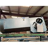 KALIN Hobeltechnik Blower for Textile Tec Motor 7,5Hp. 3480 RPM 208/460 Volts