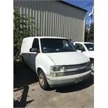 2005 Chevrolet Astro Van Auto Transmission, A/C, Rear Shelving, Odom: 277,970 (VIN: