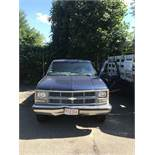 1998 Chevy Cheyenne Pickup Truck, 8' Bed, Auto Transmission, A/C, Odom:187,003, (VIN: