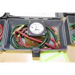 Taco model 788-1 differential pressure gauge in case