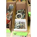 Ring bolts and fasteners