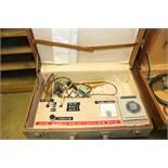 Zone valve tester in case