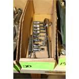 Socket wrench, sockets and adaptor