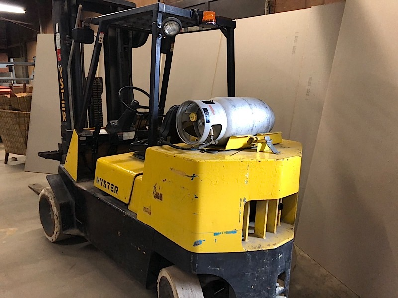 Lot 2 - HYSTER (S120XLS) 12,000 LBS CAP FORKLIFT LPG 3 STAGE (EXCLUDING TANK)
