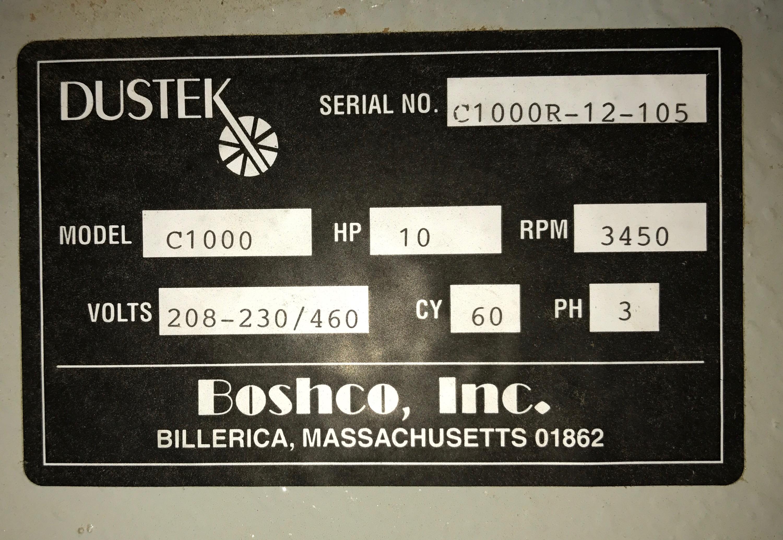Lot 12 - DUSTEK (C1000) 10HP DUST COLLECTOR