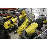 FANUC ROBOT R-2000iB/210F WITH R-30iA CONTROL, CABLES & TEACH PENDANT, SN 97043, YEAR 2009