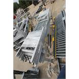 2 SECTIONS GRAVITY ROLLER CONVEYOR, LOCATION MI, BUYER TO SHIP