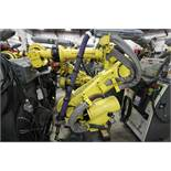 ANUC ROBOT R-2000iB/210F WITH R-30iA CONTROL, CABLES & TEACH PENDANT, SN 148405, YEAR 2014