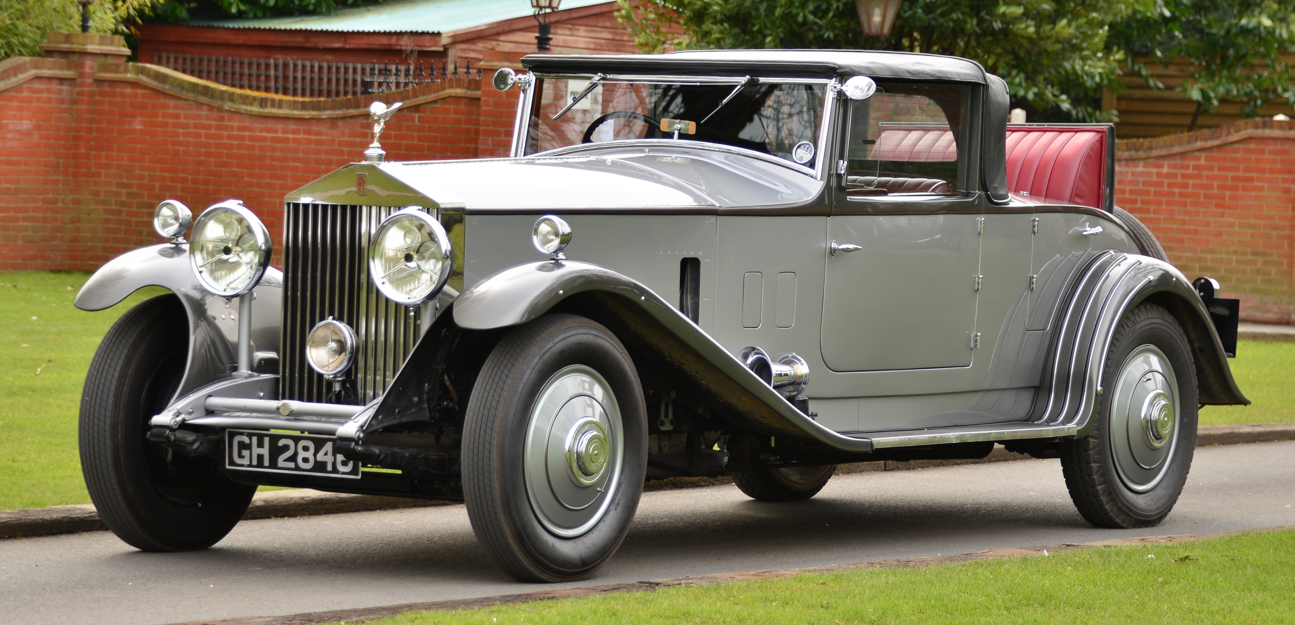 1930 rolls royce phantom ii 2 door convertible registration no 37gy chassis no gh2846 thi. Black Bedroom Furniture Sets. Home Design Ideas
