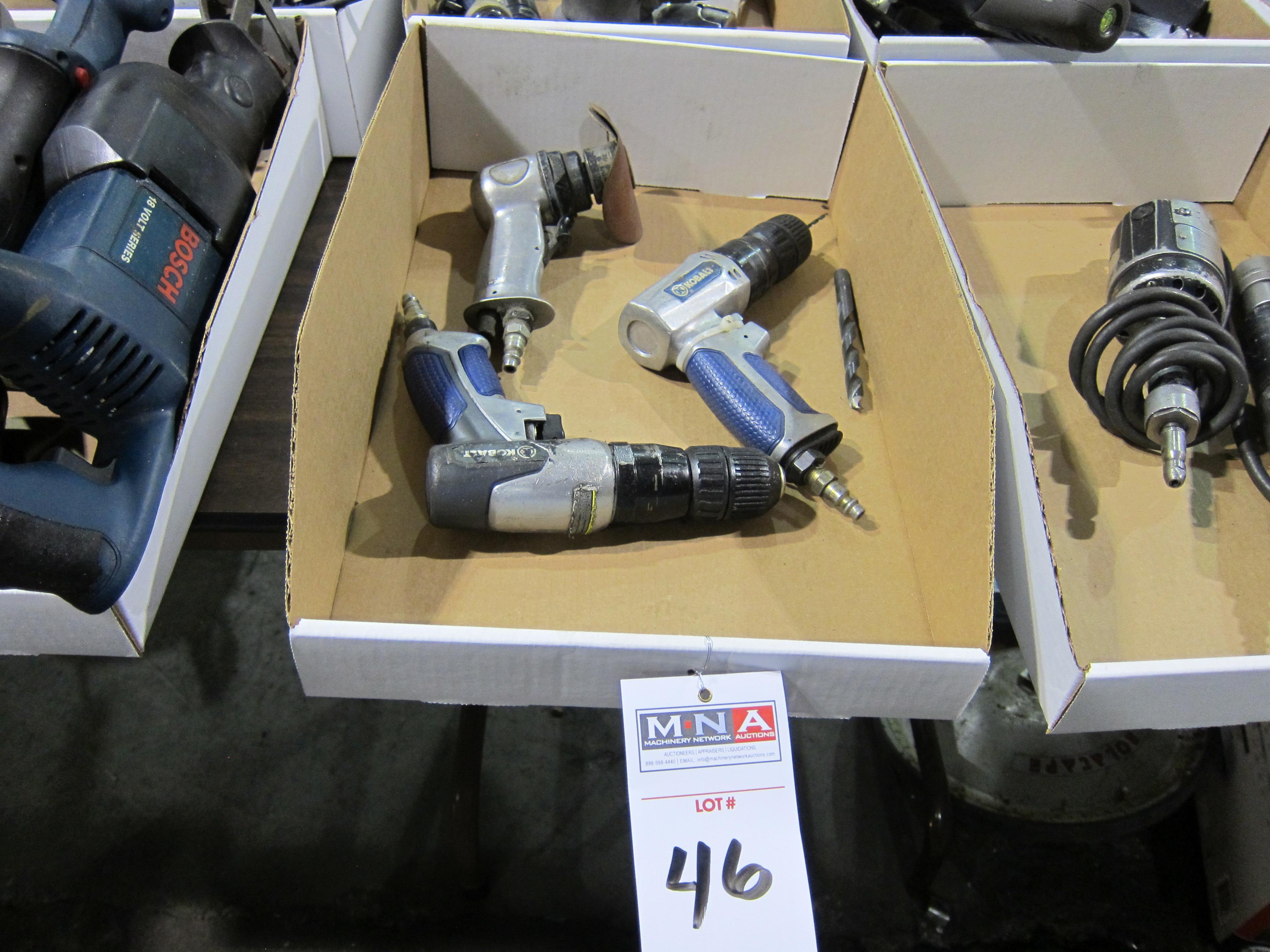 Kobalt Air Drills Amp Sander