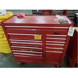 Lyon Bottom Tool Chest, W/ Contents, (See Additional Pictures) Rig Fee: $25