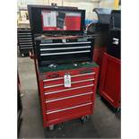 Craftsman Top & Bottom Tool Chests, W/ Contents, (See Additional Pictures) Rig Fee: $25