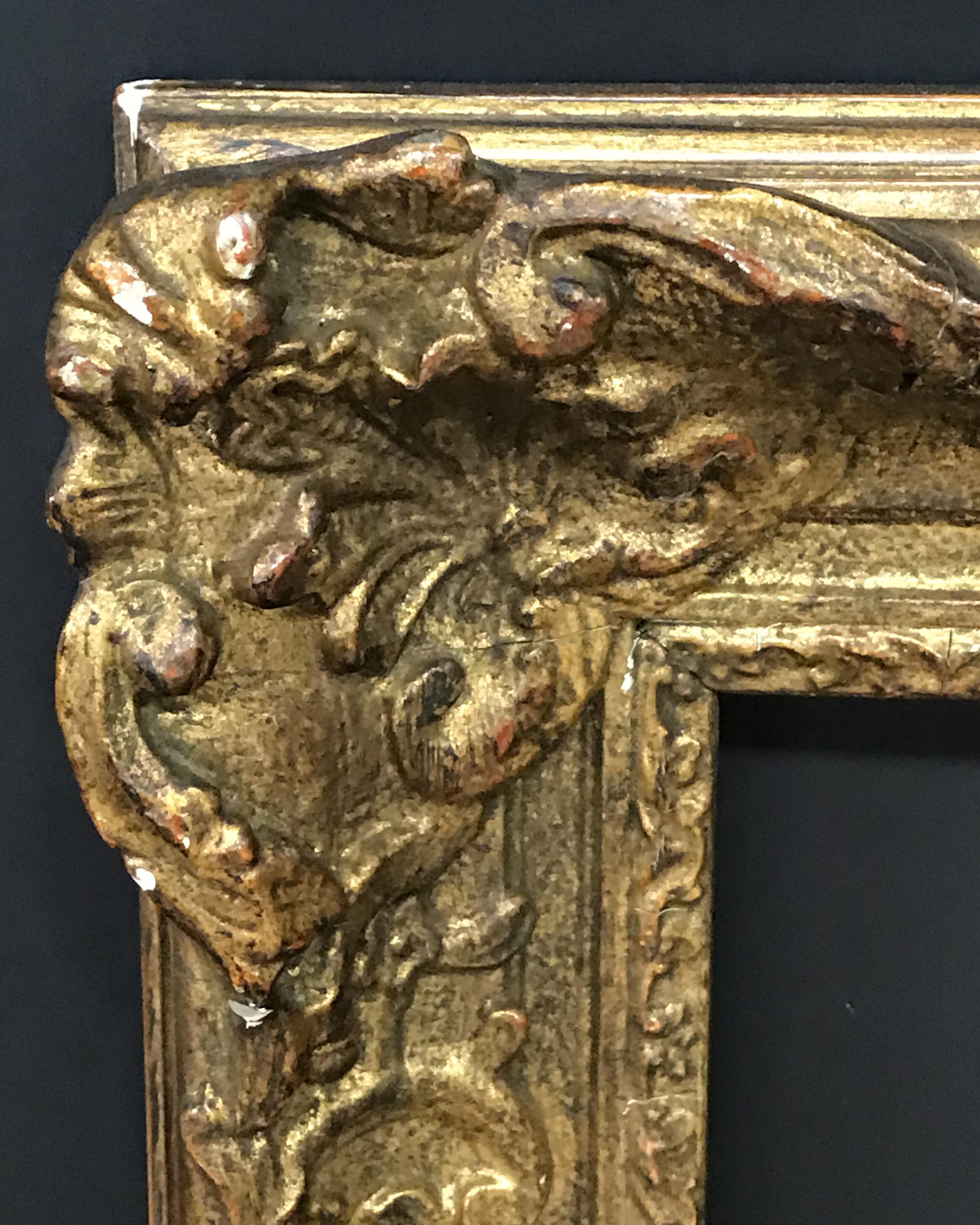 "Lot 21 - 20th Century English School. A Gilt Composition Frame, 24"" x 19.5"" (rebate)."
